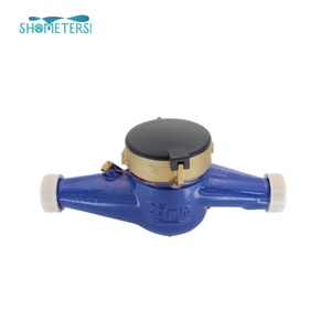 DN25 brass b class Brass Body water meter Multi Jet water meter in china