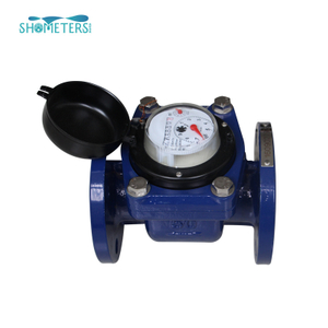 Removable Element Woltman Cold(hot) Glass Sealed Register Industrial Water Meter