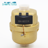 DN20 Brass water meter Volumetric water meter