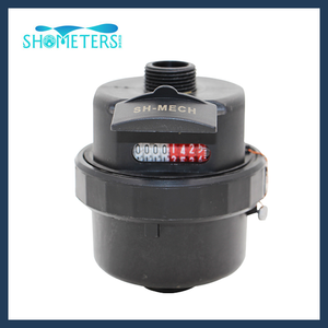 DN15 Plastic water meter Volumetric water meter
