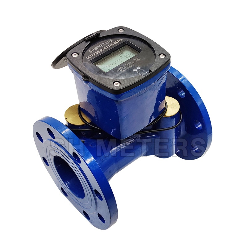 smart Wireless remote ultrasonic water meter with bule tooth