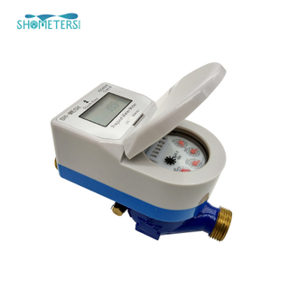 digital smart plastic ic card water meter with mpesa integration manufacturer