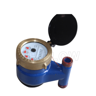 15-40mm cast iron Vertical multi jet water meter