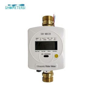 DN15 ultrasonic digital residential smart water meter