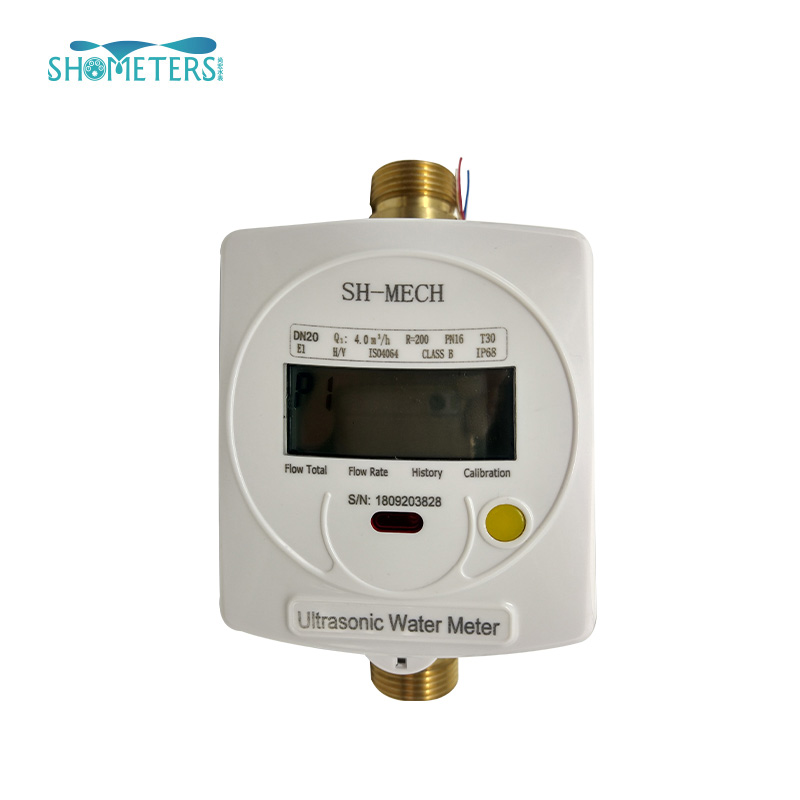 dn25 r250 digital sensor cold wifi ultrasonic water flow meter
