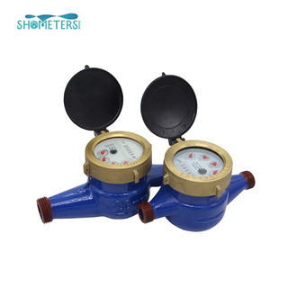 High quality multi jet water meter of cast iron