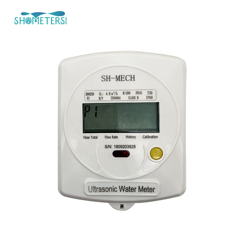 Smart AMR RS485 wireless ultrasonic water meter